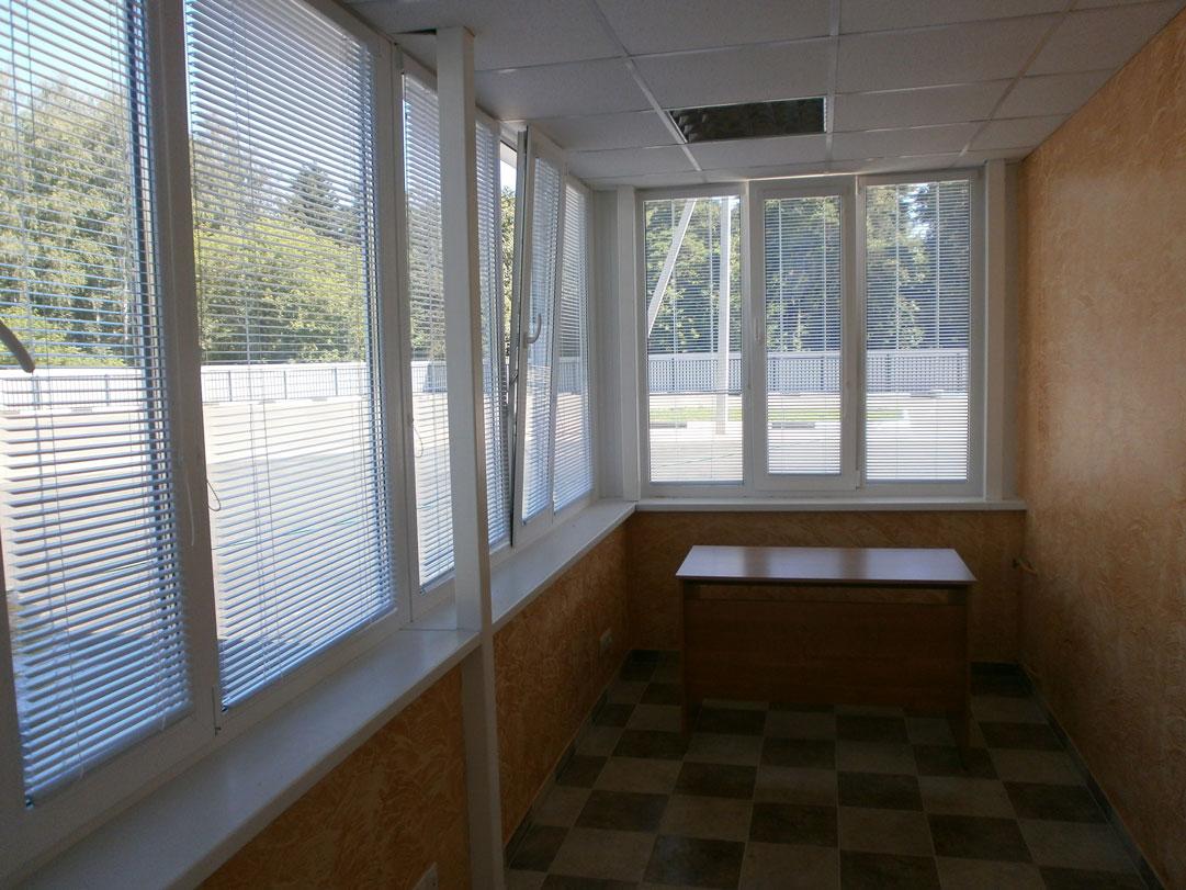 Остекление балкона пвх - окна престиж.