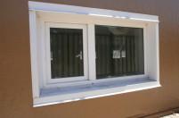 Маленькое окно из ПВХ профиля