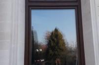 Установка цветных пластиковых окон