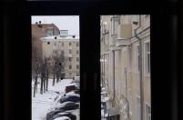 Зимние окна под дерево